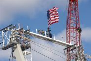 The topping-out ceremony
