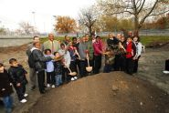 Harlem Each One Teach One Playground Groundbreaking