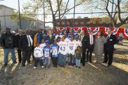 Harlem River Ballfield Groundbreaking