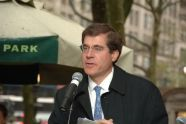 Dan Biederman, Executive Director of the Bryant Park Corporation