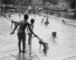 Swimming in Marcus Garvey Park