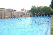 The Pool in August
