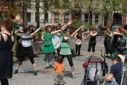 Performance in Tompkins Square Park
