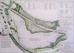 Illustration of The Van Cortlandt Lake Restoration Project