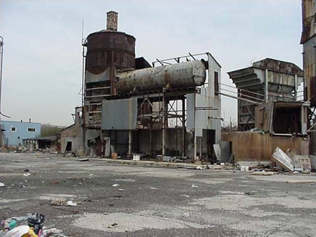 New York Cement Plants : Before they were parks nyc