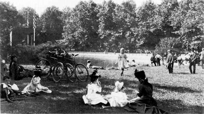 History of Bicycling in Parks : NYC Parks