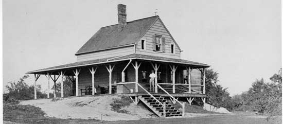 Old  Golf Club House, Forest Park, Queens, Circa 1902, New York City Parks Photo  Archive
