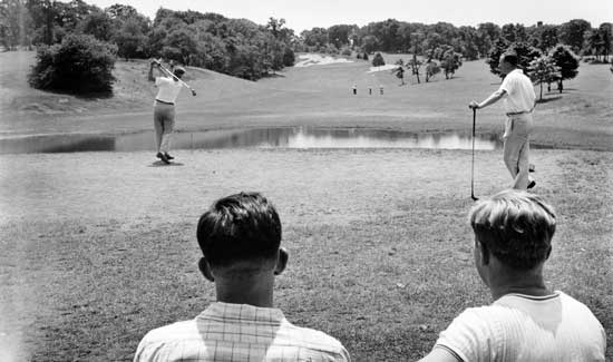 Forest  Park Golf Course, Queens, Circa 1940, New York City Parks Photo Archive