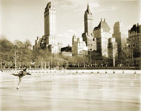 History of Ice Skating History in NYC Parks : NYC Parks