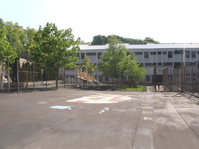 PS 4R before construction of playground