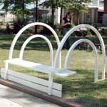 Jeppe Hein, Modified Social Bench I