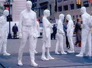 George Segal, Street Crossing