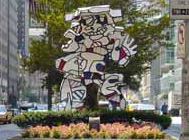 Jean Dubuffet, Four Sculptures