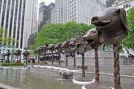 Ai Weiwei, Circle of Animals/ Zodiac Heads, courtesy of Daniel Avila