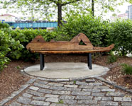 Fanny Allié, A Bench for the Night, Photograph Courtesy of the Artist