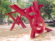 Mark di Suvero, Aesope's Fables - Beyond Double Tetrahedron