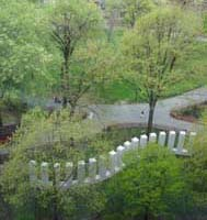 Circle with Towers (courtesy of Madison Square Park Conservancy)