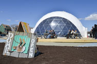 The VW Dome 2, photo courtesy of Daniel Avila, NYC Parks