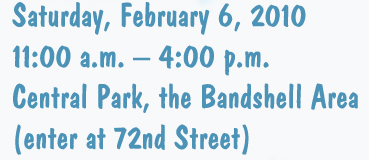 Winter Jam Event at Central Park, The Bandshell Area: Saturday, February 6, 2010