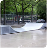 Forest Park renovated ramp