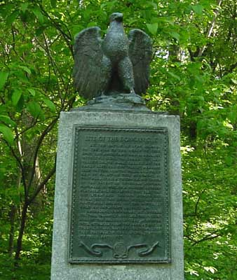 Photo of Dongan Oak Monument in Prospect Park