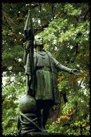 Photo of Christopher Columbus statue in Central Park