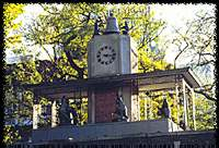 Photo of Delacorte Clock in Central Park