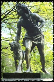 Photo of Indian Hunter monument in Central Park