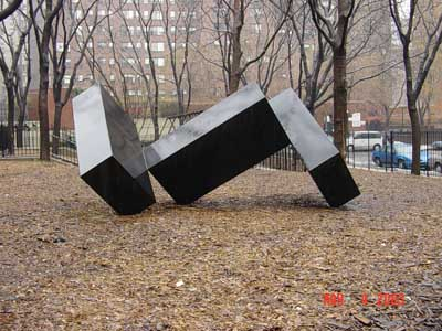 Photo of Skaggerak sculpture in Bellevue South Park