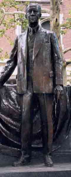 photo of Alfred E. Smith statue