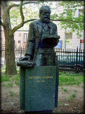 Photo of Antonin Dvorak Statue in Stuyvesant Square Park, Manhattan