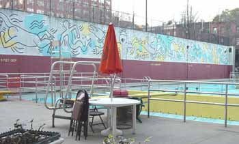 Photo of Carmine Street Pool Mural