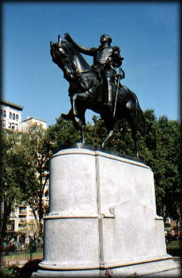 Photo of George Washington Statue in Union Square Park, Manhattan