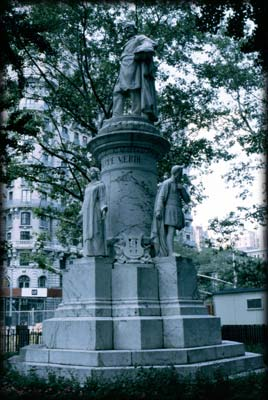 Photo of the Verdi Monument in Verdi Square
