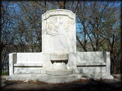 Photo of the Woman's Health Protective Association Fountain in Riverside Park, Manhattan
