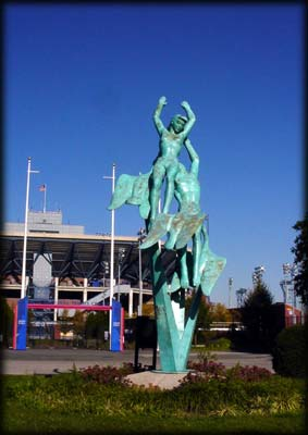 Photo of the Freedom of the Human Spirit Sculpture, Flushing Meadows-Corona Park, Queens