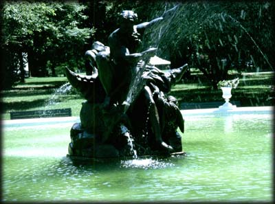 Photo of Neptune Fountain at the Snug Harbor Cultural Center, Staten Island