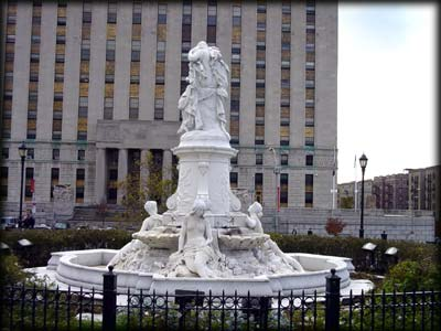 Photo of Heinrich Heine Fountain in Joyce Kilmer Park, the Bronx