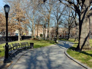 Maria Hernandez Park in the Brooklyn