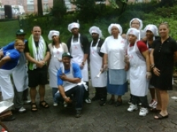 Members of the Von King Culinary Arts Program