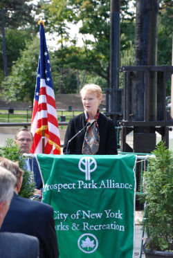 Emily Lloyd has been named the new Prospect Park Administrator and Prospect Park Alliance President.