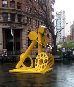 Cheryl Farber Smith, Mellow Yellow, Tribeca Park;