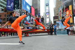 Hong Kong Dragon Boat Festival Press Preview in Times Square;