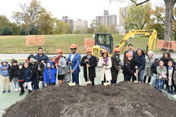 St. Mary's Park Anchor Parks Phase Two Groundbreaking