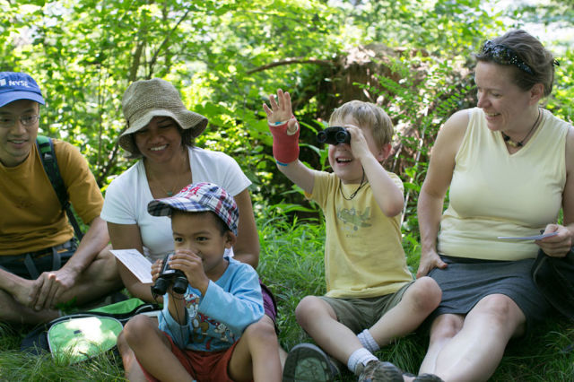 Central Park Events - Fundamentos de Birding para las familias: The Ramble: NYC Parks