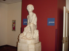 Image of Boy and Dog