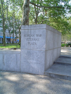 Image of Brooklyn Korean War Veterans Plaza