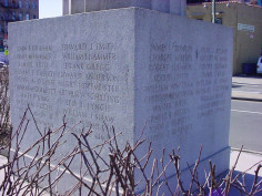 Image of Bronx Local Board #2 World War Memorial