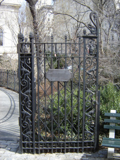 Image of Irving and Estelle Levy Playground Gate