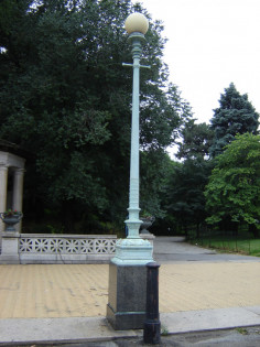 Image of Grand Army Plaza Lamps
